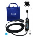 AmazingE FAST with NEMA 14-50 Plug, Level 2, 240V, 32 Amp EV Charging Station with Cable Wrap Bundle