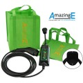 AmazingE, Level 2, 240V, 16 Amp EV Charging Station with Cable Wrap Bundle