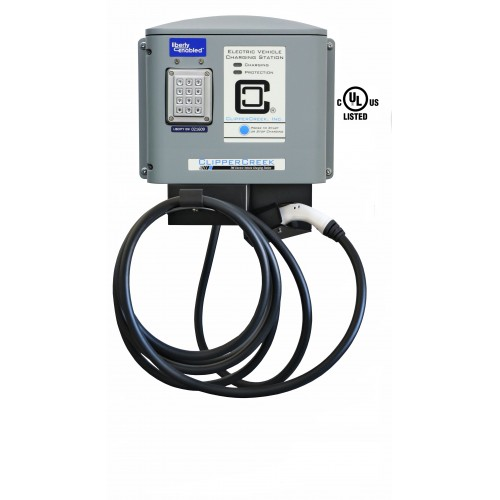 CS-100 Liberty PlugIns Enabled, 80 Amp, Level 2 EVSE, 240V, 25 ft cable