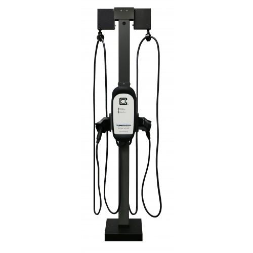 Universal Pedestal Extension Cable Management Kit, Dual-Mount
