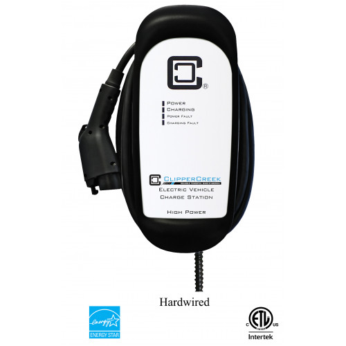 HCS-30, 24 Amp, Level 2 EVSE, 240V, with 25 ft cable