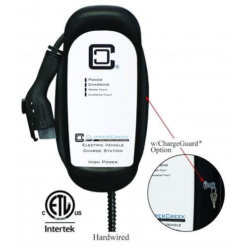 HCS-30R, Ruggedized 24A Level 2 EVSE, 240V, 25 ft cable with ChargeGuard® Bundle
