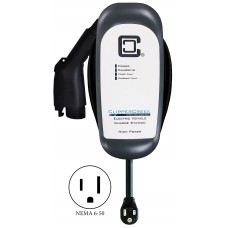 HCS-40P, Plug-in 32 Amp, EV Charging Station, 25 ft cable, NEMA 6-50