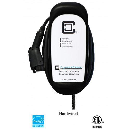 HCS-50 EVSE, 40 Amp Level 2, 240V, 25 ft cable EV Charging Station