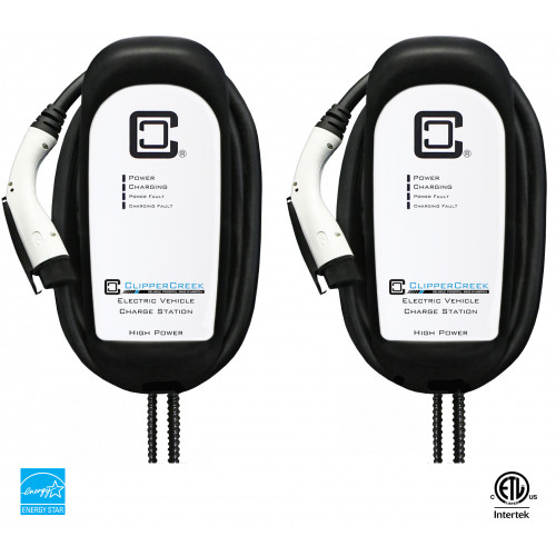 Share2® Enabled HCS-80 EVSE Bundle, 64 Amp Level 2, 240V, with 25 ft cable