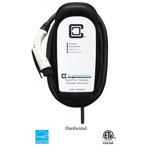 HCS-80, 64 Amp, Level 2 EVSE, 240V, with 25 ft cable