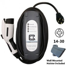 LCS-25P, Plug-in 20 Amp EVSE, 25' charging cable, with NEMA 14-30 plug