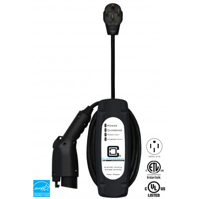 LCS-30P, Plug-in, 24A, L2 EVSE, 240V, NEMA 14-50, with 25 ft cable