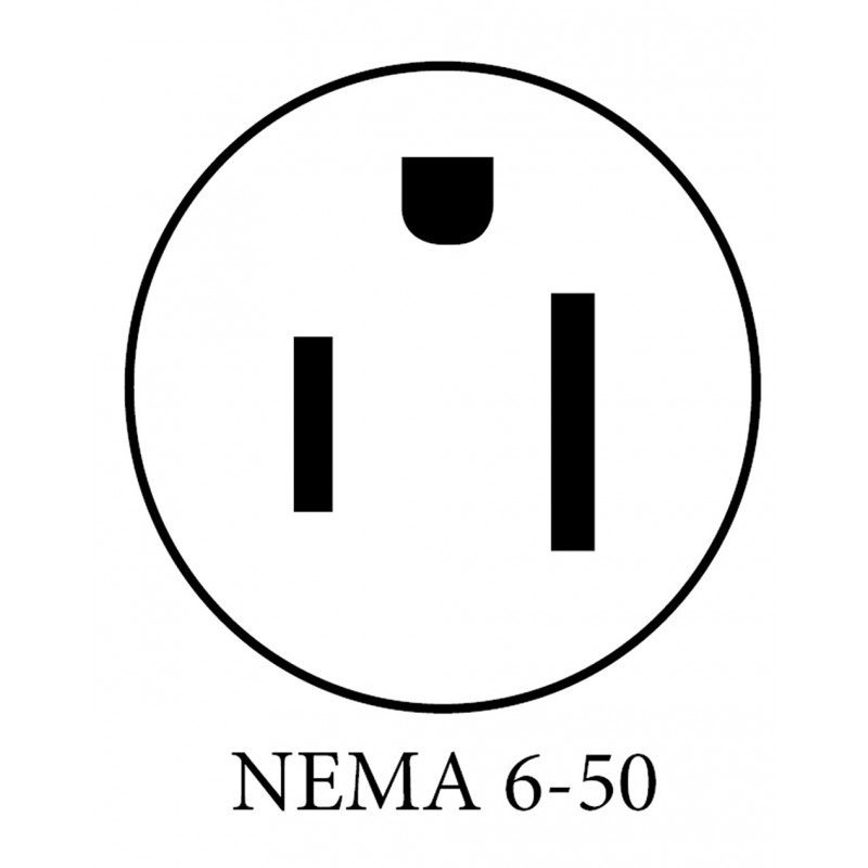 NEMA 6 50 PLUG DIAGRAM (w)upside down 800x800 24a level 2 evse lcs 30p with nema 6 50 clippercreek
