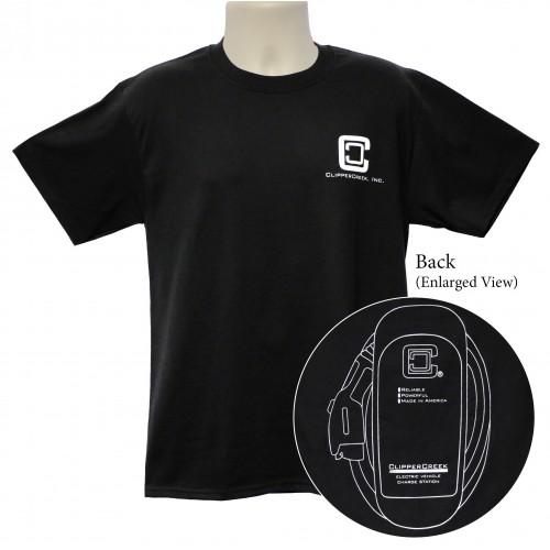ClipperCreek T-Shirt , Adult, Short-Sleeve, Black