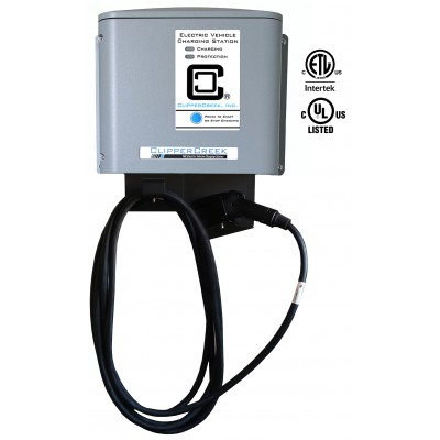 CS-40, 32 Amp Level 2 EVSE, 240V, with 25 ft cable