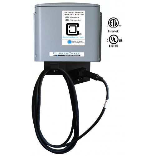 CS-40 32 Amp EV Charging Station commercial evse