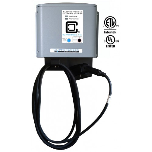 CS-40-SG2, Utility Connected, 32 Amp EV Charging Station, 25 ft cable