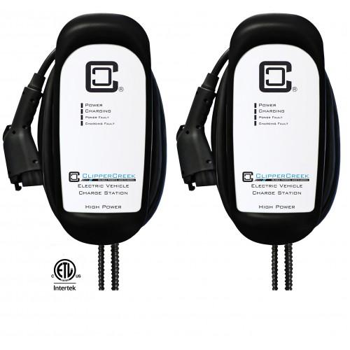 Share2® Enabled HCS-50 EVSE Bundle, 40 Amp Level 2, 240V, with 25 ft cable