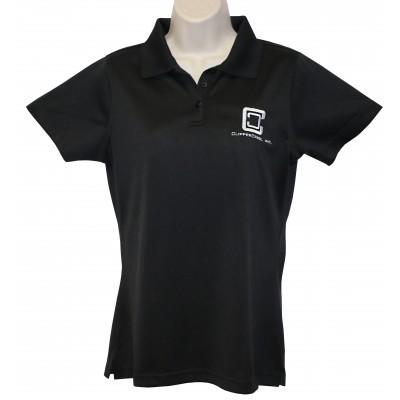 ClipperCreek Polo, Women's Snag-Proof, Black