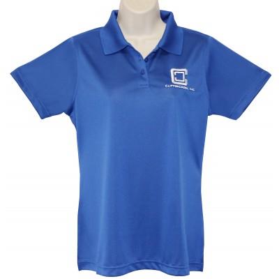 ClipperCreek Polo, Women's Snag-Proof, Royal Blue