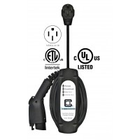 LCS-20P, Plug-in 16 Amp, EV Charging Station, 25' charging cable with NEMA 14-50 plug