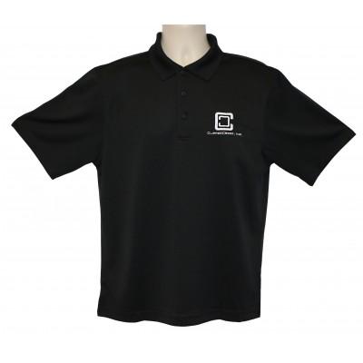 ClipperCreek Polo, Men's Snag-Proof, Black
