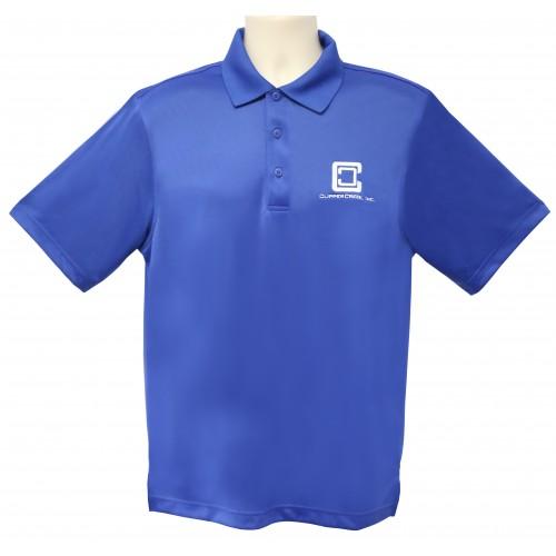 ClipperCreek Polo, Men's Snag-Proof, Royal Blue