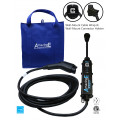 AmazingE FAST Level 2, 32 Amp EV Charging station with NEMA 14-50 plug, J1772 Connector Holster, Cable Wrap Bundle