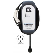 HCS-50P, Plug-in 40 Amp, EV Charging Station, 25 ft over-molded cable, NEMA 14-50