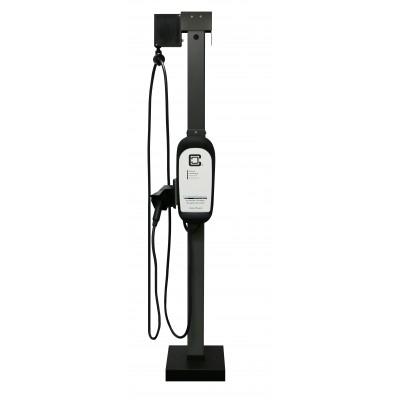 Universal Pedestal Extension Cable Management Kit, Single-Mount