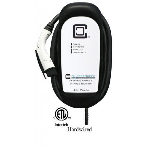 HCS-60, 48 Amp EV Charging Station, 25 ft over-molded cable