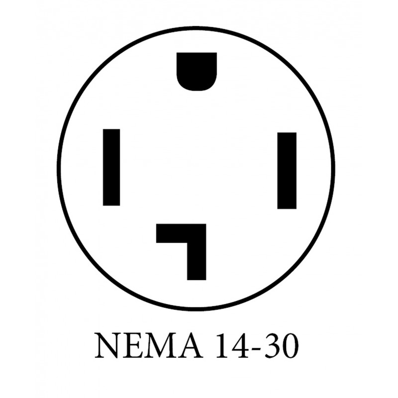 NEMA 14 30 PLUG DIAGRAM (w) 800x800 20a level 2 evse lcs 25p with nema 14 30 clippercreek nema 14 30r wiring diagram at metegol.co