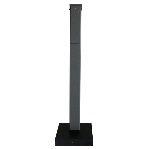 HCS Pedestal for ClipperCreek EV Charging Station, Single Mount