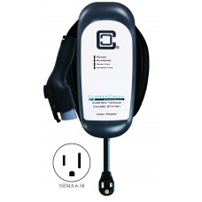 HCS-40PR with NEMA 6-50, Ruggedized 32 Amp Level 2 EVSE, 25 ft cable