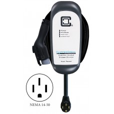 HCS-40PR with NEMA 14-50, Ruggedized 32 Amp Level 2 EVSE, 25 ft cable