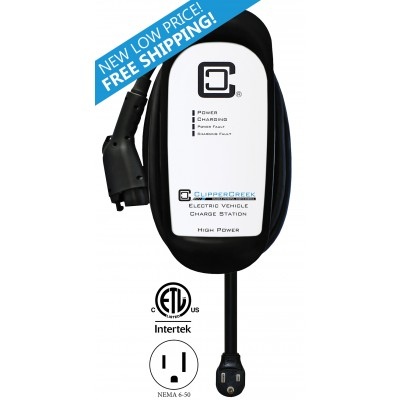 Level 2 Electric Vehicle Charging Stations: 12-80 Amp